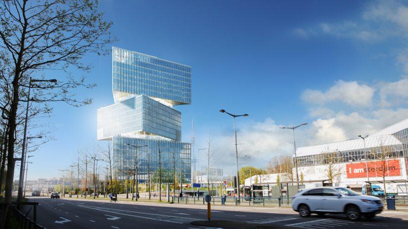 Impressie Nieuwbouw nhow Amsterdam RAI Hotel BOAG