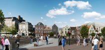 Renovatie monumentale panden en nieuwbouw Aalmarkt te Leiden BOAG