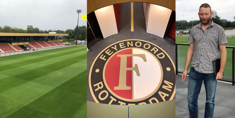 Oplevering trainingscomplex Feyenoord Varkenoord BOAG