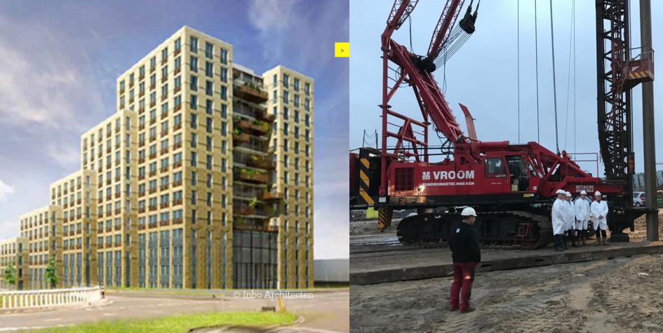 start bouw Jongerenwoningen Noorderkwartier Amsterdam De Key