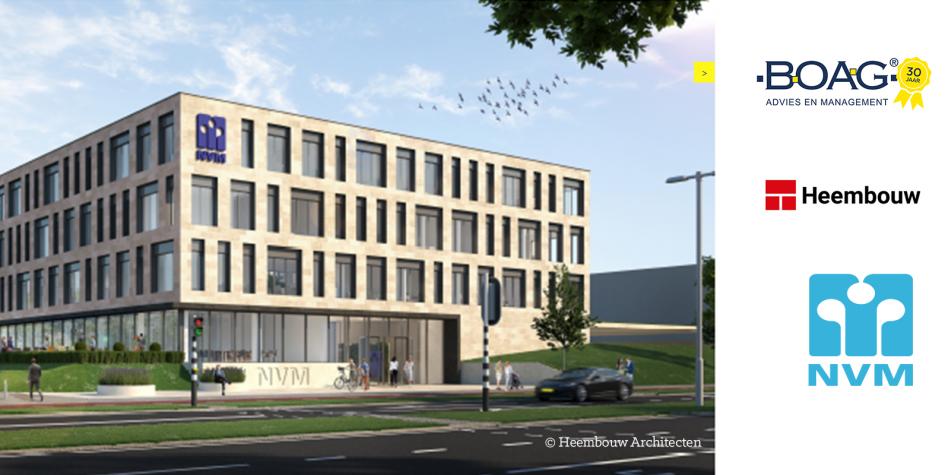 BOAG verzorgt kwaliteitscontrole en projectmanagement bij nieuwbouw NVM