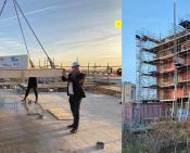 Hoogste punt appartementen Guido van Dethstraat Bouwinvest BOAG